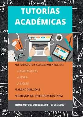 Clases - Tutorías Académicas Particulares