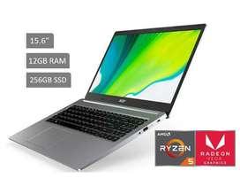 LAPTOP ACER ASPIRE 3, 4 RAM, 128 GB WINDOWS 10 ORIGINAL