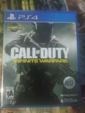 Juego PS4 Call of Duty infinite warfare Nuevo sellado