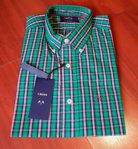 Camisa Hombre Cross. Talle M