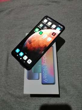 Cambio o vendo Redmi Note 9 doble SIM ambos originales y operativos con caja.