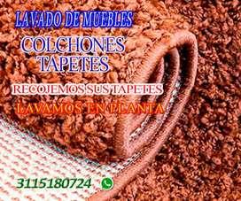 LAVADO DE MUEBLES, COLCHONES, TAPETES, BOGOTA