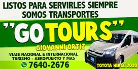 GO TOURS WHATSAPP 76402676 GIOVANNI ORTIZ