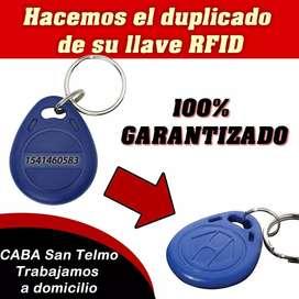 Copia De Llave Rfid 125khz, 13.56mhz, Hid, Uid. Garantía!!!