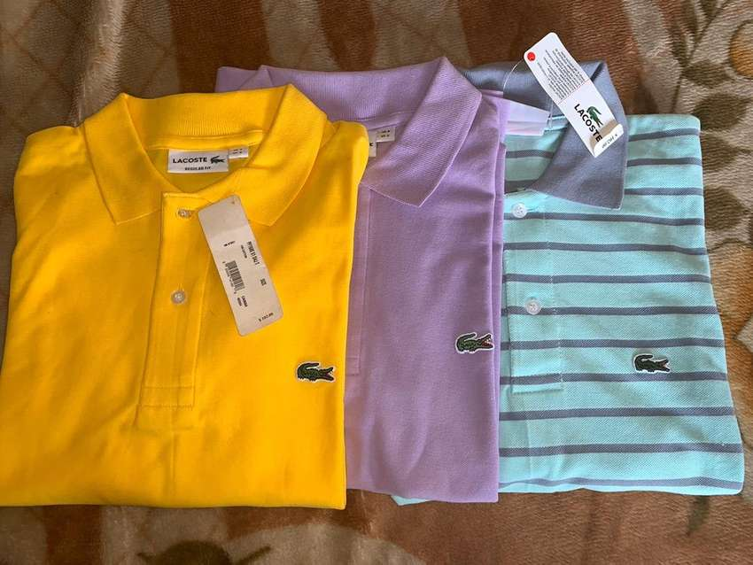 Camisetas marca Lacoste talla S 0