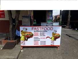 carro de comida rápida