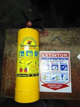 extintor abc de 10 lbs