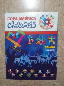 Álbum panini copa América 2015 incompleto