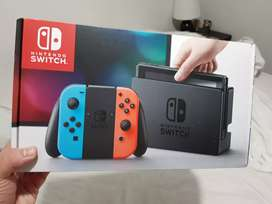 Nintendo switch sin uso