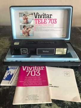 Camara Pocket Vivitar 703 con Estuche