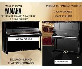 TIENDA DE PIANO - PIANOS DESDE $ 1,800 DOLARES