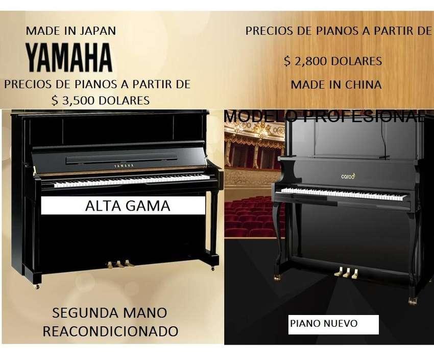TIENDA DE PIANO - PIANOS DESDE $ 1,800 DOLARES 0