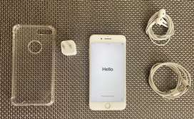 Iphone 7 Plus 128G + cubo cargador + audifonos