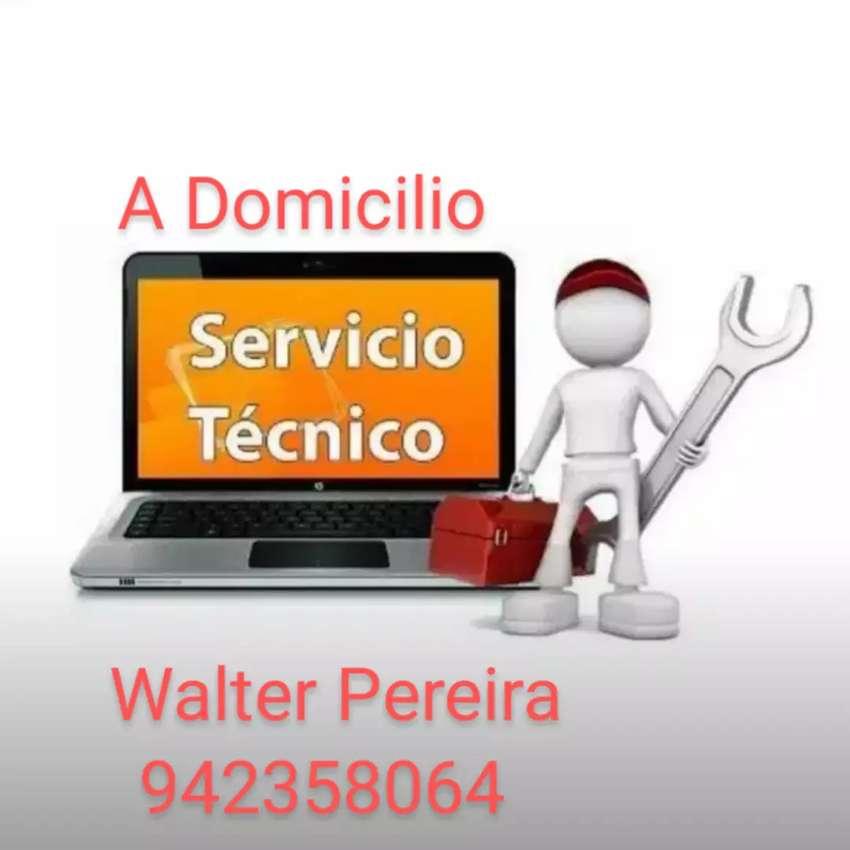 Servicio técnico a domicilio para computadoras y laptops 0
