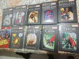 Tomos colección Marvel editorial Salvat