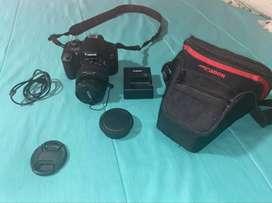 Canon Eos Rebel T6 Cámara Digital Con Lente 18-55 mm