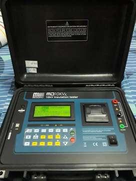 Megohmetro Digital 10kv
