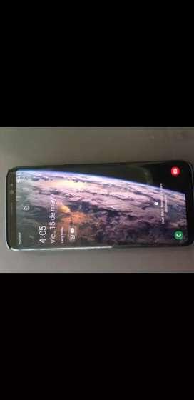 Vendo o cambio por computador Samsung s8 solo con cargador