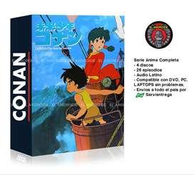 Conan El Niño Del Futuro Serie Anime Completa