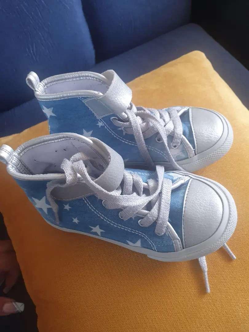 Zapatos, tenis niña talla 27