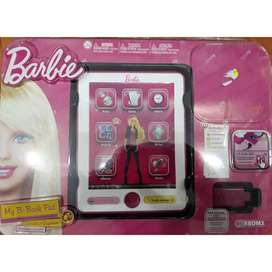 BARBIE TABLE PAD (BOOK PAD INTERACTIVO CON SONIDOS )