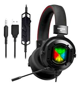Diadema Headset Gamer Rgb Ps4 Consolas Mobile Pc Onikuma K3