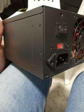 Fuente de poder pc - doble ventilador