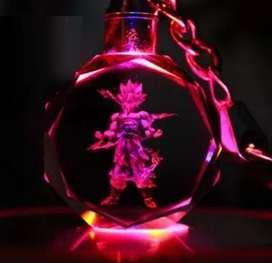 llavero dragon ball alumbran led ilusion of time varios personajes