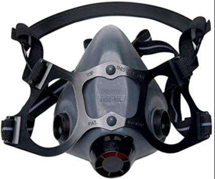 Mascara respirador con filtros
