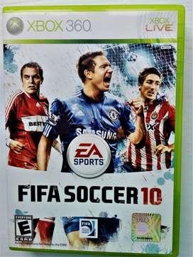 CD juego para Xbox360 Fifa Soccer 10