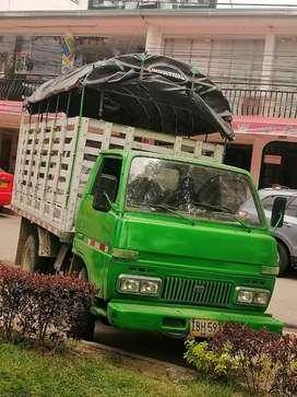 Vendo ho cambio por camioneta de estacas de mi interes dahiatsu v10 motor kia 3500 con turbo y freno de ahogo solo wasap