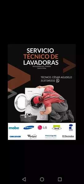 Servicio técnico y mantenimiento  de lavadoras