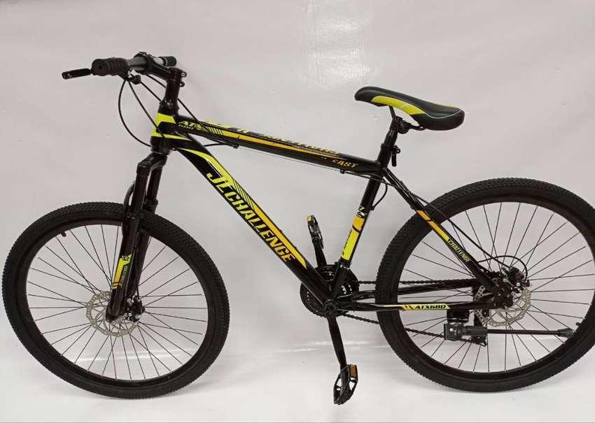 Bicicleta 27.5 Gti Shimano 21 Vel. Cuadro Aluminio Importada 0