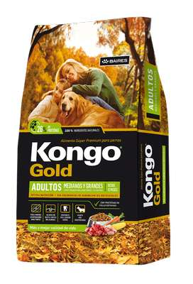 Kongo Gold Adulto 21 kg