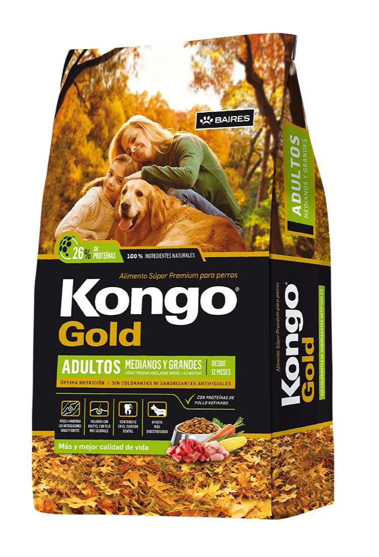 Kongo Gold Adulto 21 kg 0
