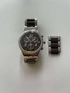 Reloj Swatch acero inoxidable