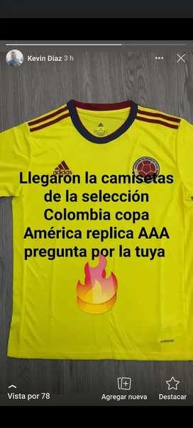 Camisetas de la selección Colombia