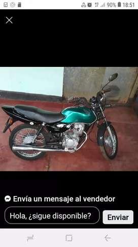 Vendo moto ks modelo 2000