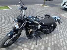 Moto Triumph Modelo Street Scrambler