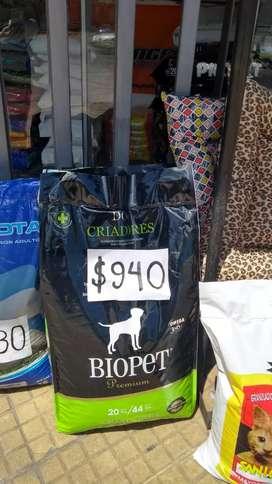 Alimento balanceado para perro x20 adulto