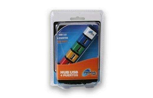 Cargador USB con 4 puertos conectores. 0