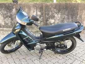 Moto suzuki vivaX 115.