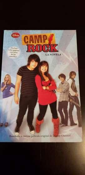 Camp Rock la novela