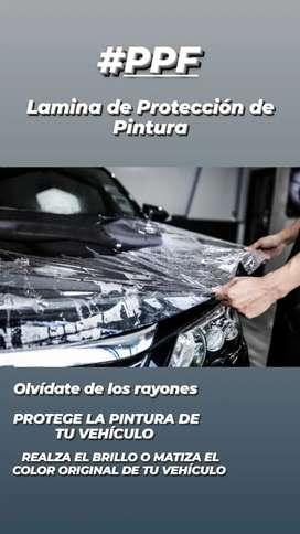 PPF LAMINA DE PROTECCIÓN DE PINTURA
