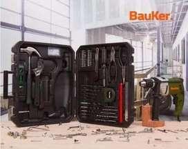 Kit Taladro Percutor Bauker 1/2 Pulgada 750w NUEVO