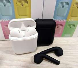 Audífonos Inpods 12 Bluetooth 5.0 Auriculares Inalámbricos