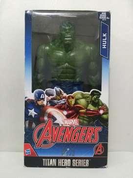 Juguete Hulk Titan Hero Series Advengers Marvel Original 4+ años Niños
