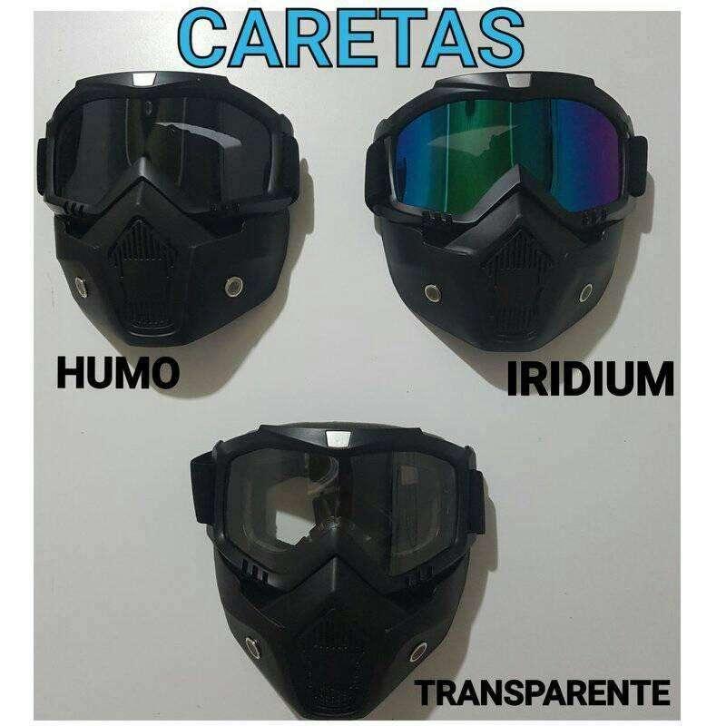 CARETAS PARA CASCO 0