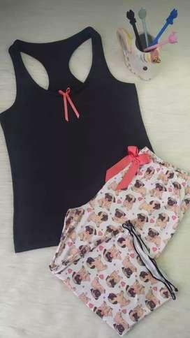 Oferta mes de la madre Pijamas Capri para mujer