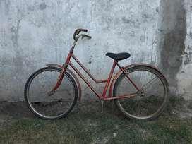 a Restaurar Bicicleta Empipada